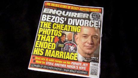 Billionaire divorce. Supermarket tabloid. extortion demand - Jeff Bezos and the National Enquirer