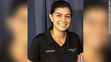 Suspect in death of Davis Police Officer Natalie Corona identified