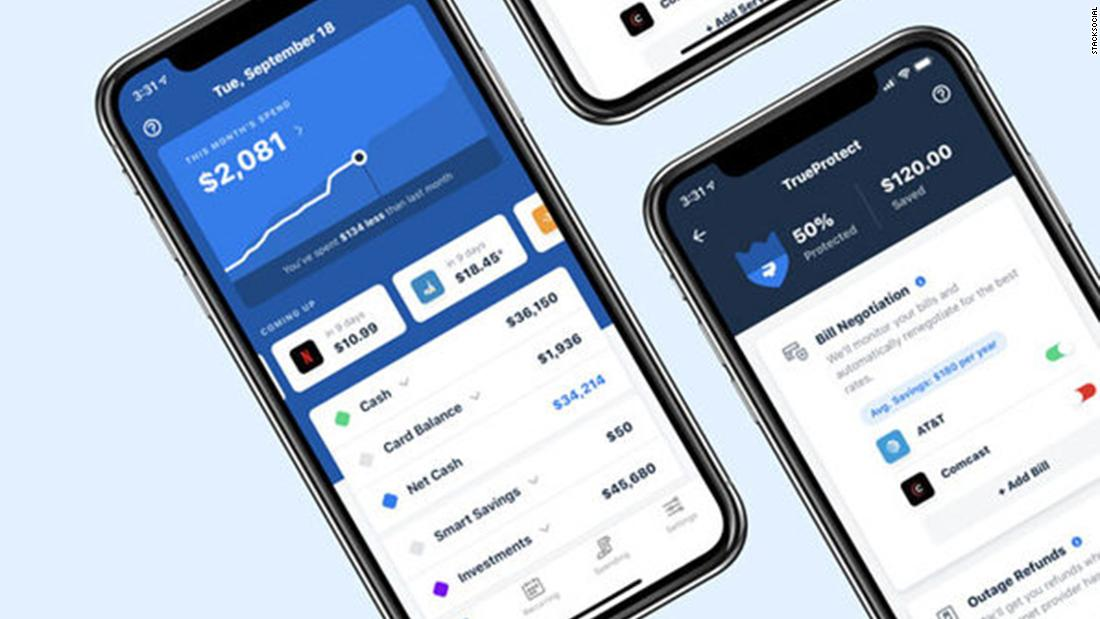 Save more and spend less with this easy-to-use personal finance app