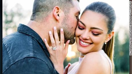 Tim Tebow and Demi-Leigh Nel-Peters engaged