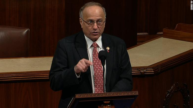 CBC Member Asks Rep. King Be Censured for Racist Remarks