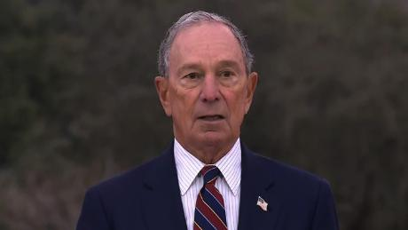 Michael Bloomberg presents a climate award to the mayor of Austin, TX press conference/LIVE