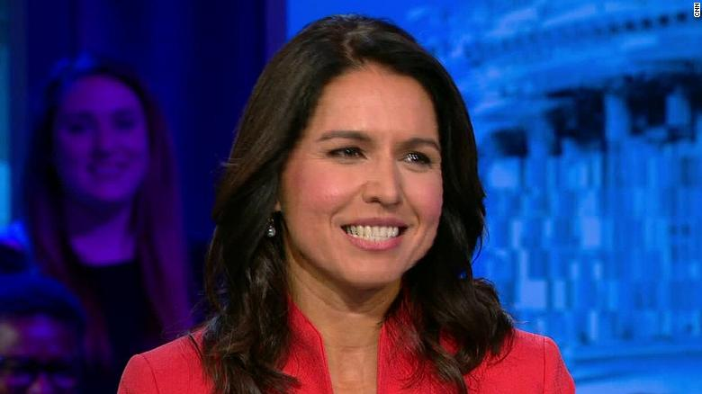Tulsi Gabbard Announces She's Running for President