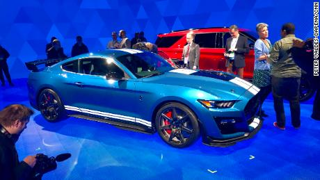 The Shelby GT500 will be the  most powerful factory-produced Mustang that Ford has ever made.