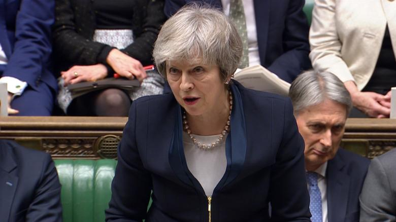 Theresa May's Brexit plans go down to historic defeat in Commons