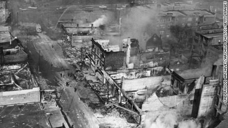 Riots erupted in Chicago and other cities after King's  1968 assassination.