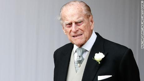 Buckingham Palace reveals that the Duke of Edinburgh visited hospital this morning