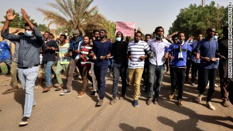 Sudan protests: Doctor and teen 'shot dead' during clashes