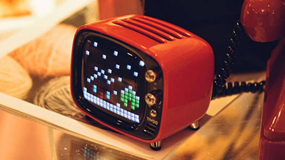 TIVOO's pixel art Bluetooth speaker mixes retro with sweet sound