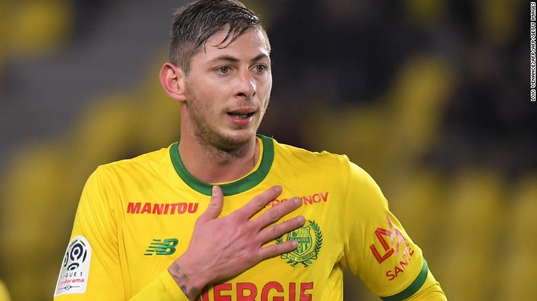 Cardiff City's Emiliano Sala On Board Missing Plane