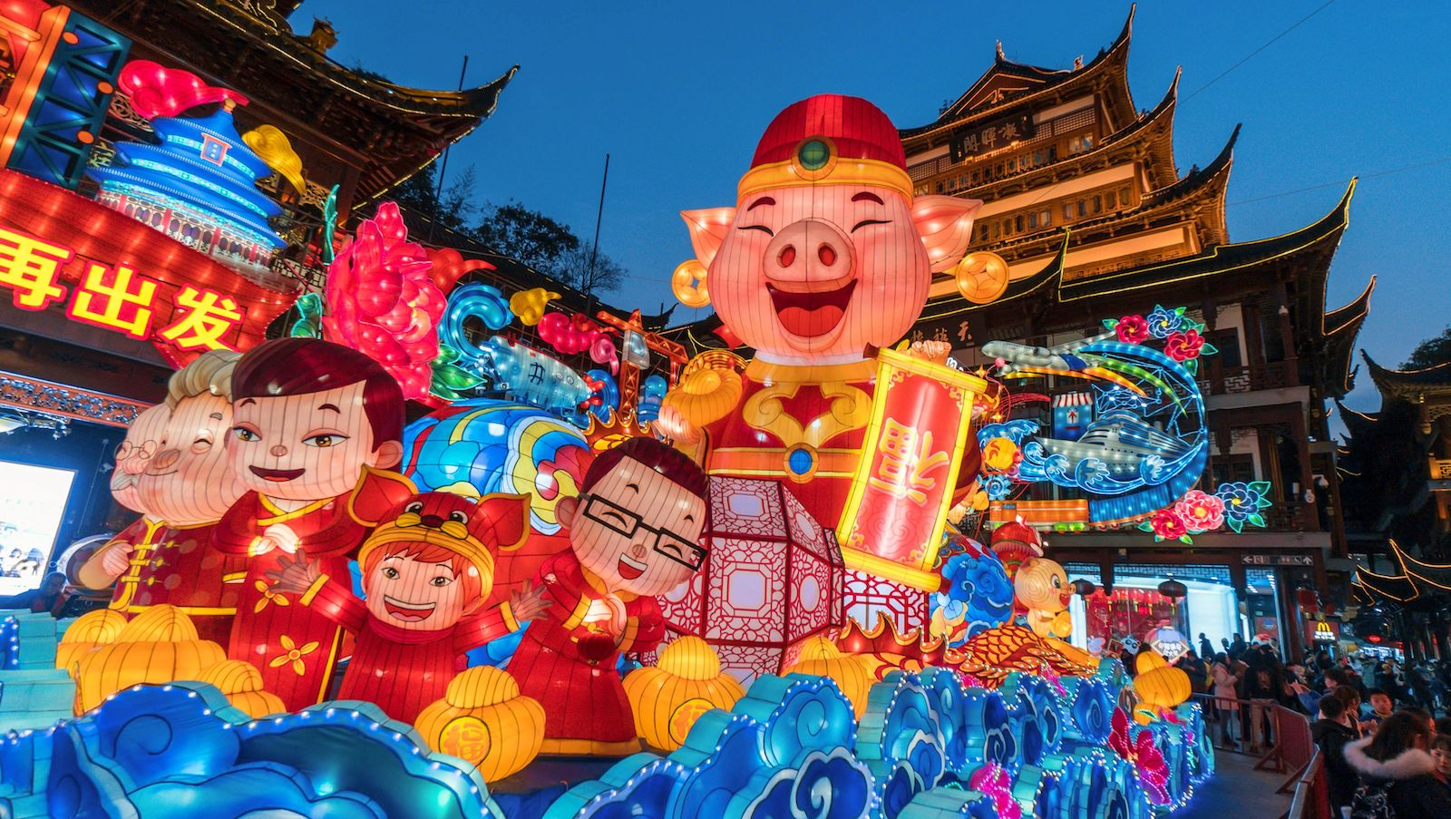 Lunar New Year 2019 Welcoming The Year Of The Pig Cnn Travel