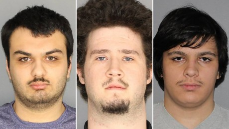 Three charged with planned explosive attack on Muslim community