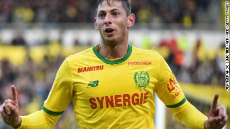 Sala was Nantes top scorer for three seasons and became a fan favorite.