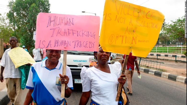 20.000 cô gái Nigeria bị bán cho đường dây mại dâm, cơ quan buôn người nói