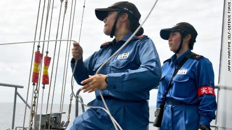 Respondiendo a la llamada: Las mujeres en la primera línea de la defensa de Japón