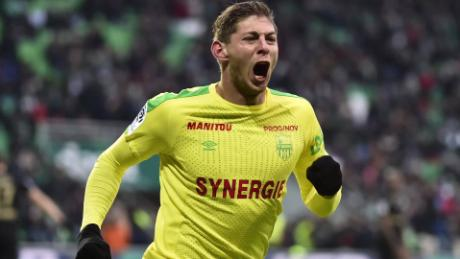 Sala had joined Cardiff City for a club-record fee.
