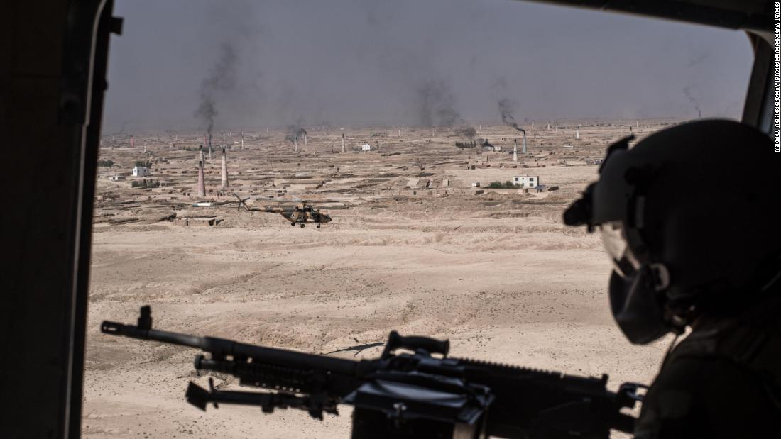 US and Afghan troops come under direct fire during operation, US military says
