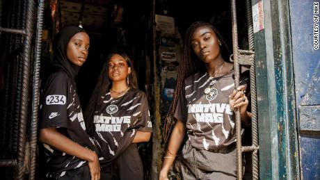 The 23-year-old Nigerian who designed a special edition jersey with Nike