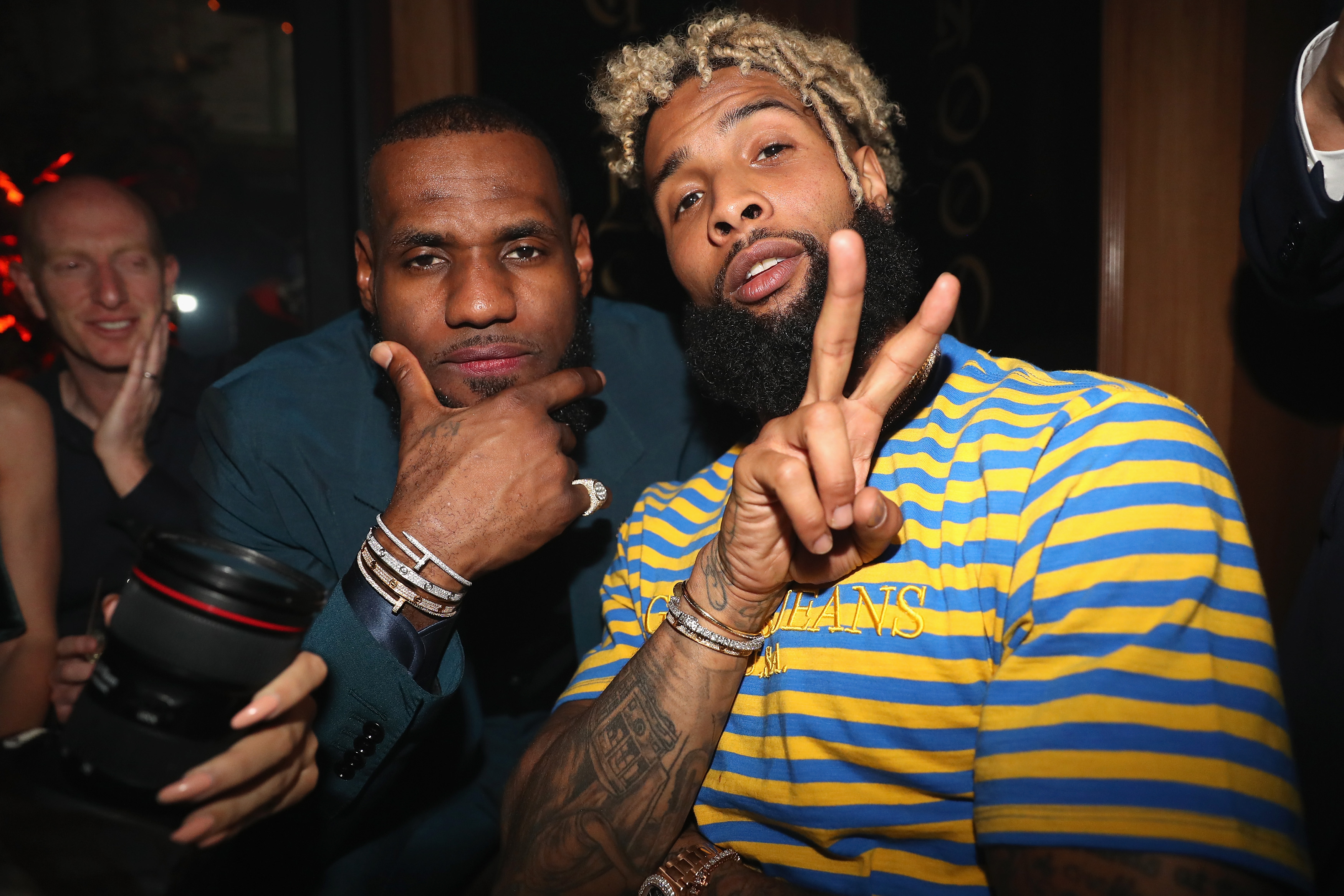 wholesale dealer 18c9d e40cb Odell Beckham, Jr. is the style icon the NFL needs - CNN Style