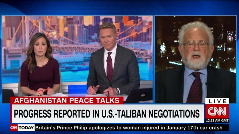 Donald Trump Says Talks With Afghanistan