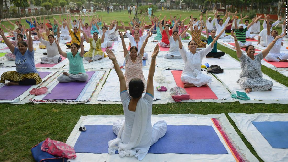 Indians angry about a yoga practice getting a 'Western rebrand' - CNN