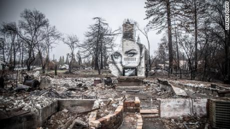 An artist's poignant project among the ashes in Paradise