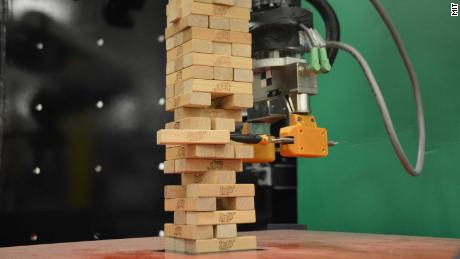 Scientists have created a robot that can play JENGA
