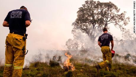 Las batallas del Servicio de Bomberos de Tasmania en todo el estado el 23 de enero.