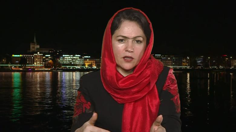 Afghan MP I'm very worried for women's rights