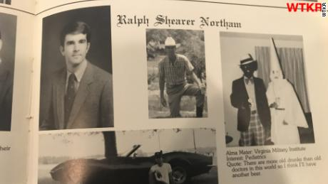 Virginia governor faces pressure to resign after racist yearbook photo surfaces