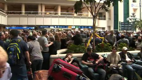 TSA agent falls to his death at Orlando Airport causing delays, confusion