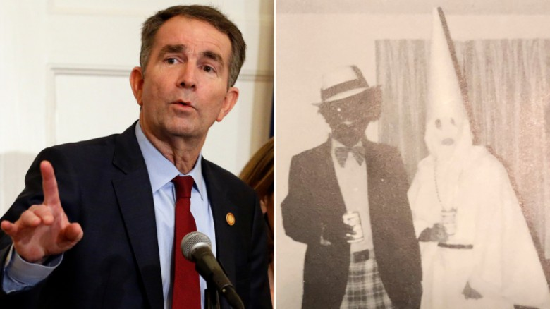 Virginia governor embroiled in blackface controversy