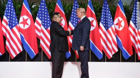 Trump caution helps as he looks to Kim's top for a boost