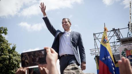 European nations recognize Juan Guaido as Venezuela's interim president