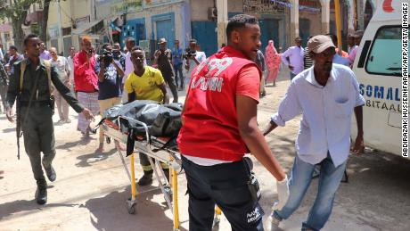 Car bomb kills two at Somalia shopping mall