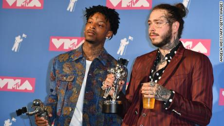 Grammys to take world stage Sunday, but 21 Savage will not