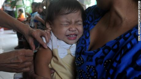More than 20 million children worldwide miss out on the measles vaccine each year