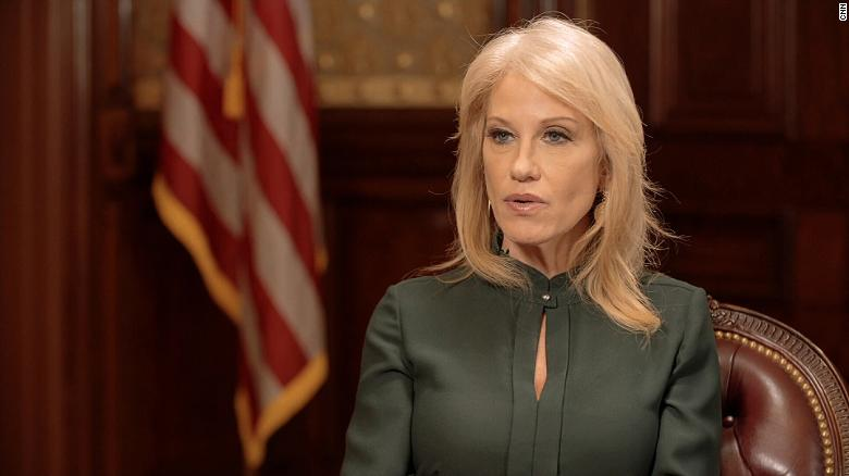 Trump's counselor, Kellyanne Conway, claims woman assaulted her at restaurant