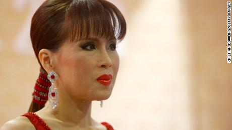 Princess Ubolratana Rajakanya attends the Golden Kinnaree Awards on September 30, 2009 in Bangkok, Thailand.
