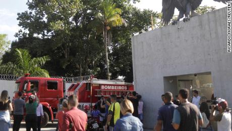 Young players die in fire at Brazilian football club Flamengo's academy