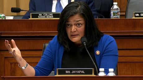 whitaker hearing jayapal clash impact zero tolerance policy vpx_00000407