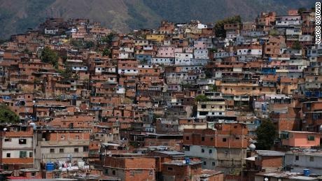 Home to more than 700,000 people, the Petare barrio is the largest slum in South America.