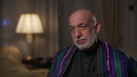 Former Afghan President US troops don't help create peace