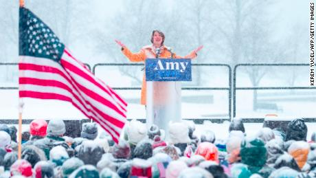 Amy Klobuchar dismisses reports she's a tough boss