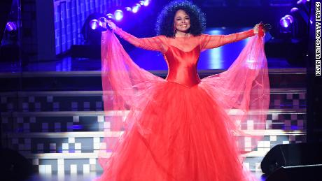 Diana Ross at the Grammys