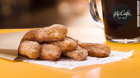 McDonald's Adds Donut Sticks to Breakfast Menu