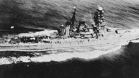Wreck of Japanese World War II battleship found off Solomon islands