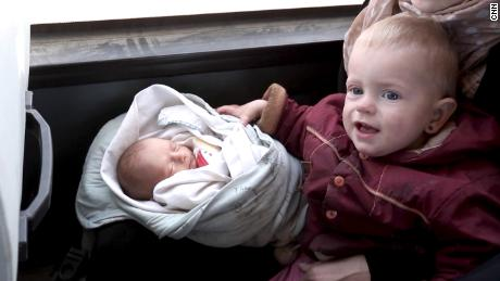 Germany has no repatriation program for children like newborn Maria and Habiba, 16 months.