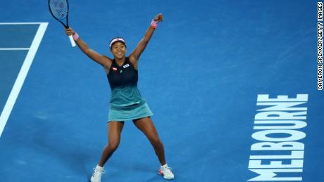 Naomi Osaka won the Australian Open just 17 days ago.