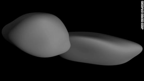 The & # 39; snowman & # 39; on the edge of the solar system is crepe-shaped, says NASA